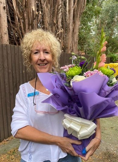 Lovely Carer Lesley, Retires