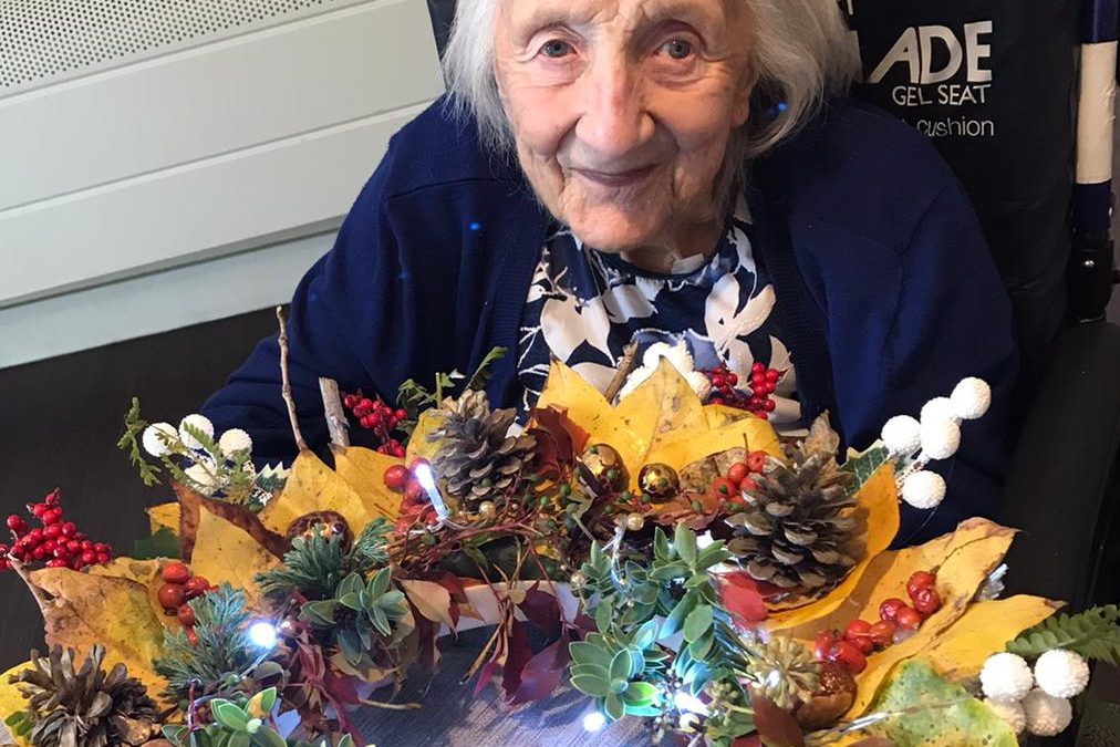 NATIONAL DAY OF ARTS IN CARE HOME RECEIVES AUTUMNAL MAKEOVER