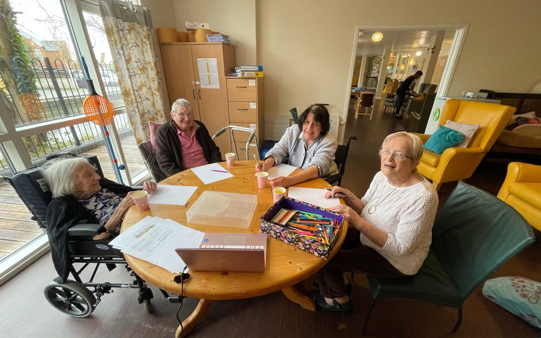 City's Art Culture is Delivered Into Canal Vue Care Home