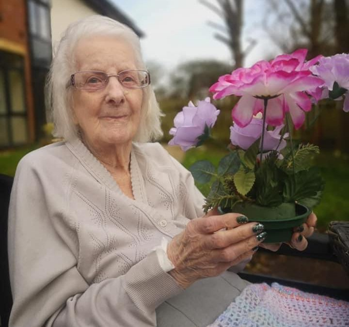 Easter Flowers Bring Spring Into Park House Care Home