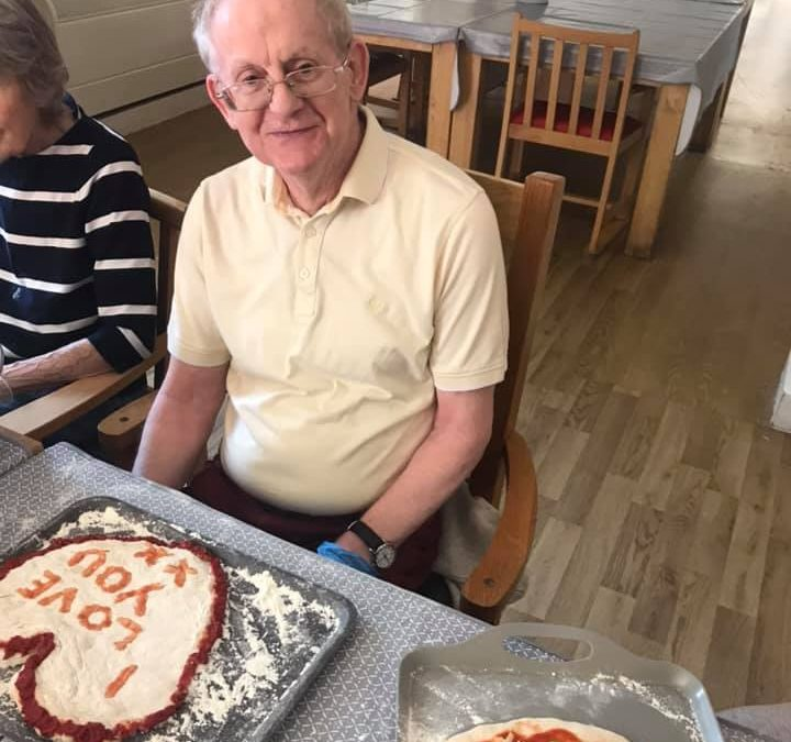 It's Italian Day at Park House Care Home
