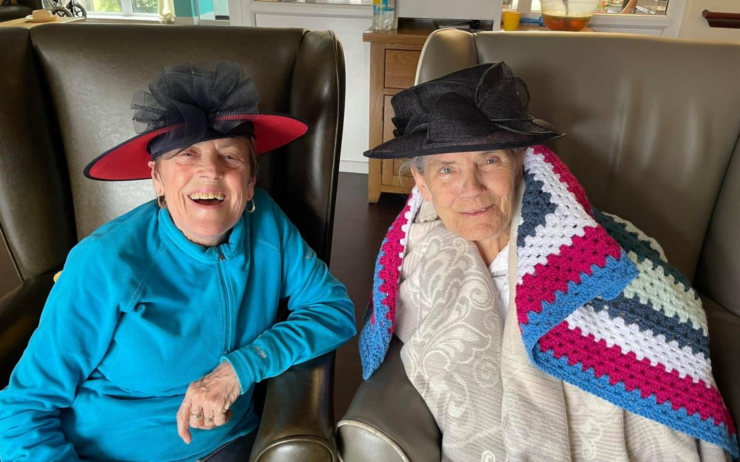 It's All About The Hats at Canal Vue Care Home