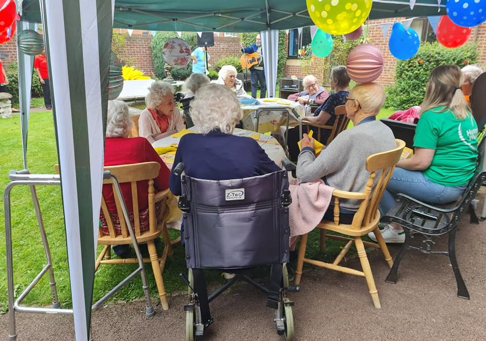 Celebration of Afternoon Tea Week Thanks to Heart Church