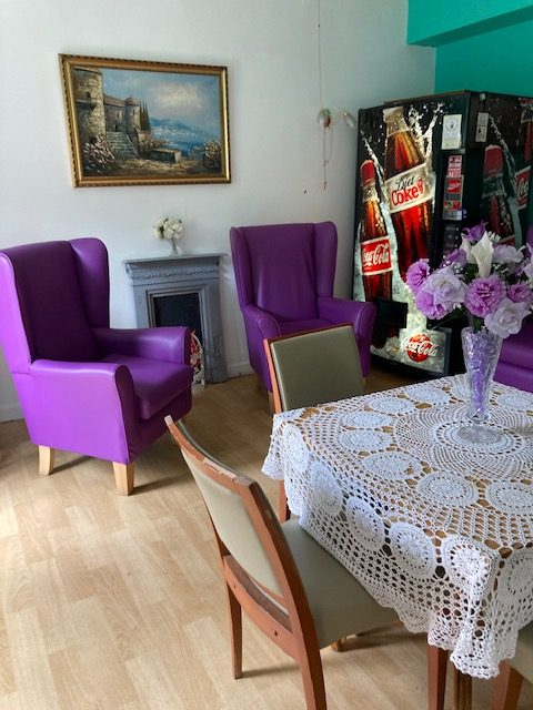 Visitors VIP Lounge at Park House Care Home